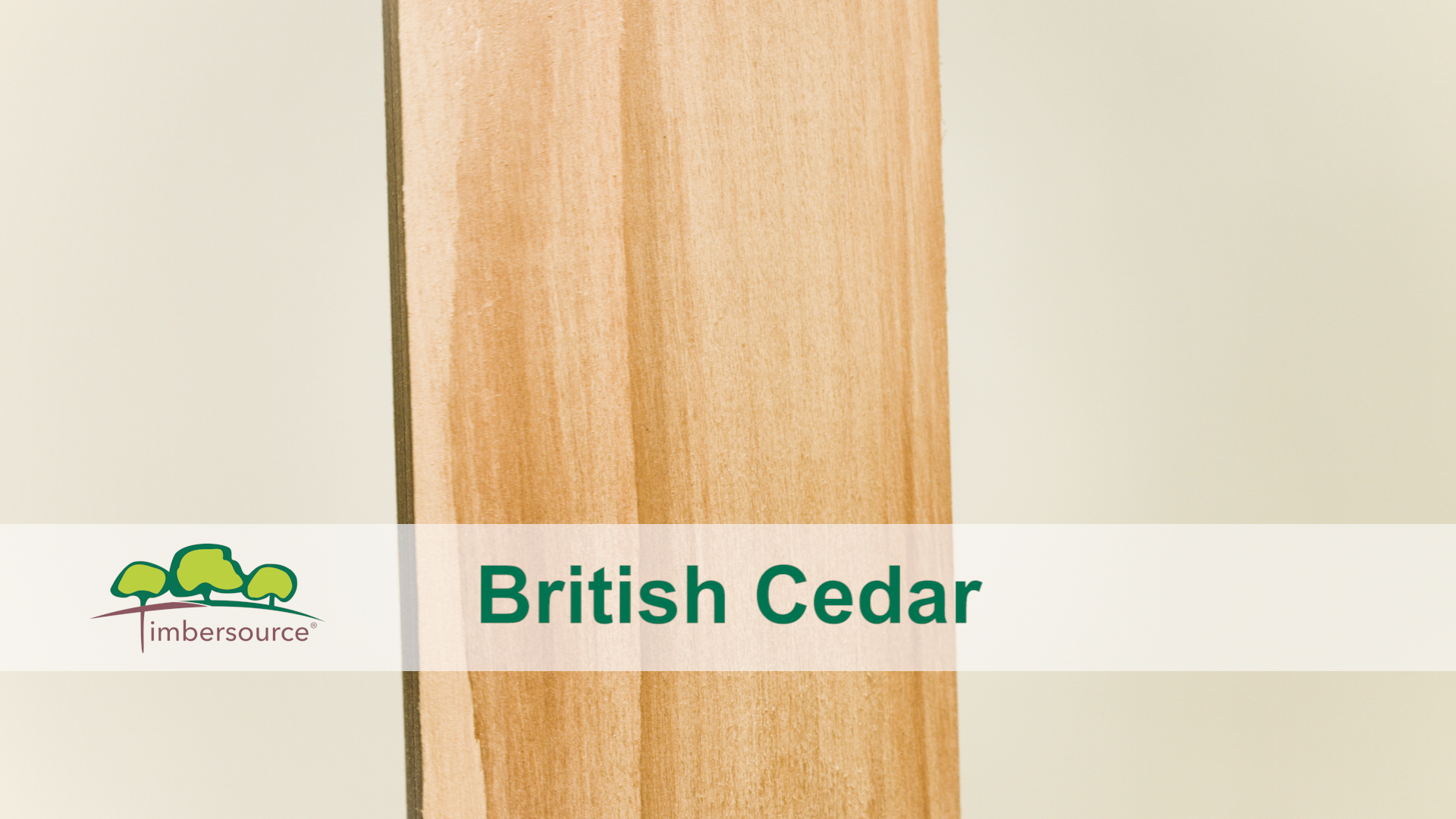 British Western Red Cedar | Timbersource Ltd